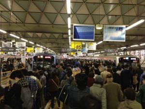 東横線渋谷駅最後の日